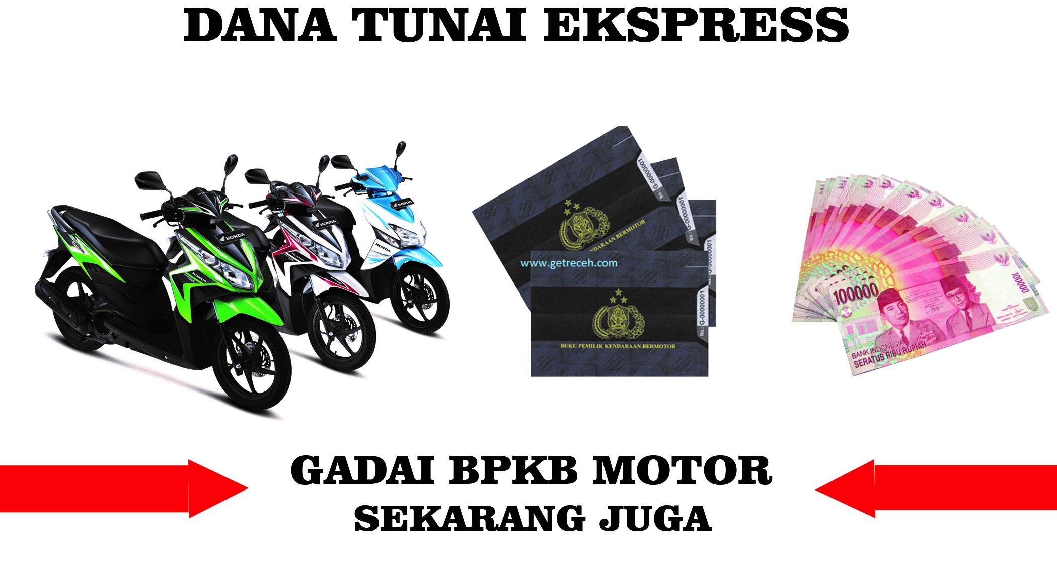 Dana Tunai Jaminan BPKB Motor Kota Bandung Proses Cepat Tanpa Potongan